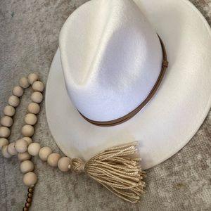 White Cute Hat